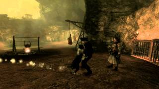 Fable 3 - Hovering dog