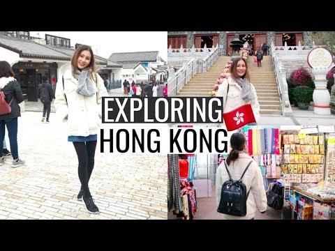 Exploring The City, Markets & Lantau Island⎮Hong Kong Trip 2018