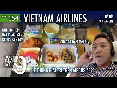 [M9] #154: Hệ thống giải trí trên Airbus A321 của Vietnam Airlines | Phòng chờ Lotus | Yêu Máy Bay