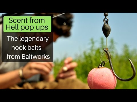 Carp fishing - Baitworks Scent from Hell pop ups