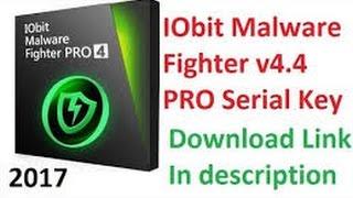 IObit Malware Fighter 4 5 pro / Serial Keys 2017 / Online Activation 100% Working