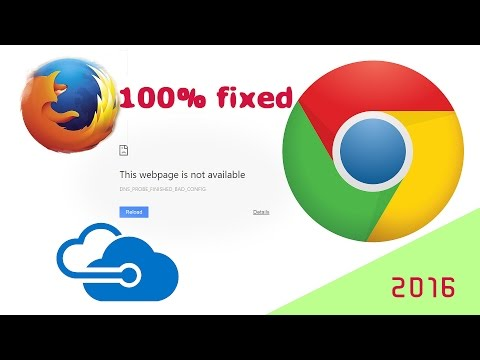 How to fix dns probe finished bad config no internet access on window 10 8 8 pro