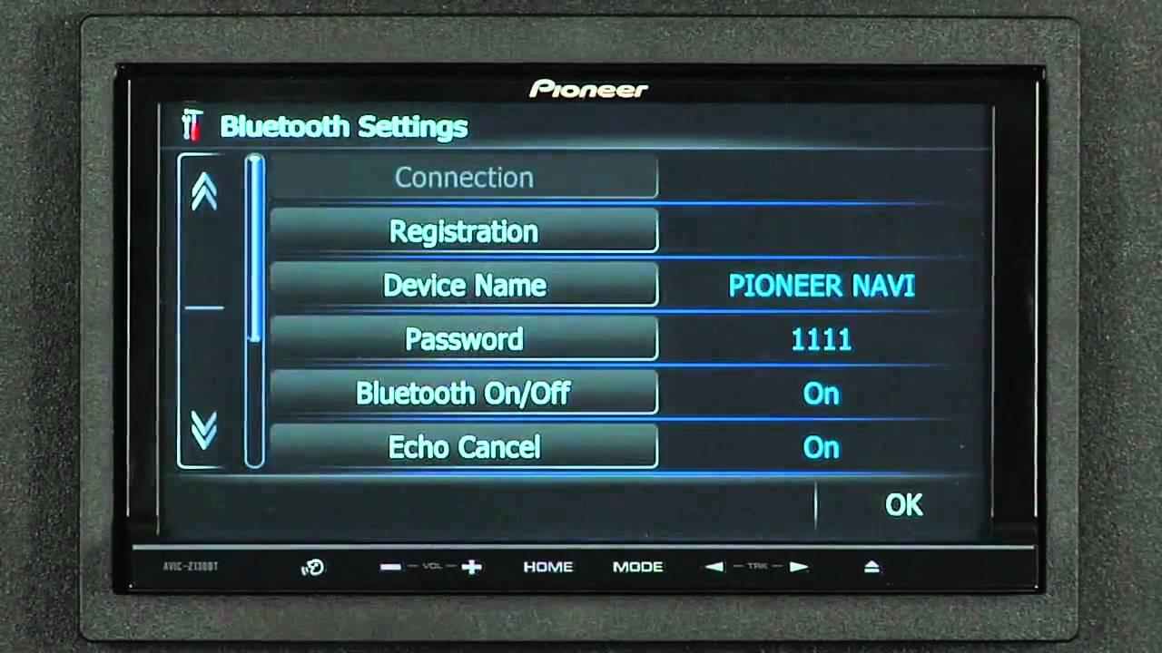 FAQ - AVIC-Z130BT - Bluetooth Pairing