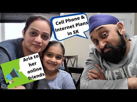 CELL PHONE & INTERNET PLANS IN SASKATCHEWAN   ARIA'S SHOUT OUT