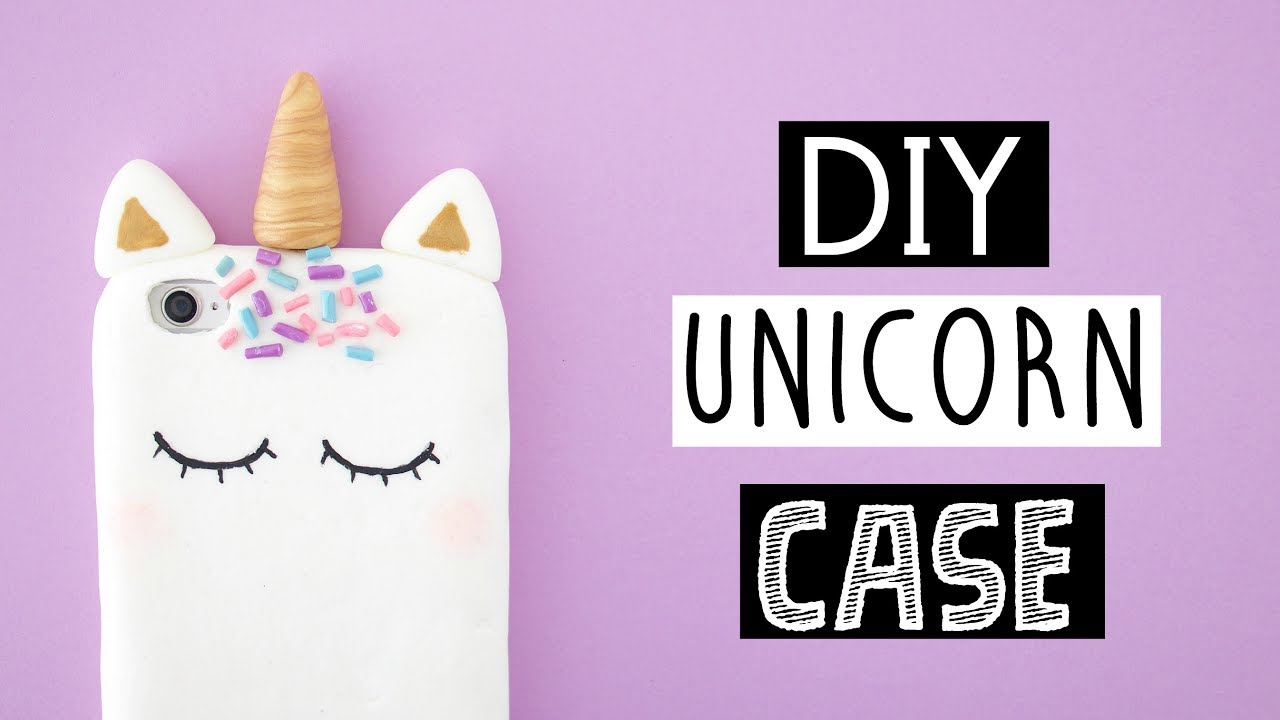 Diy Calendar Nim C : Diy viral unicorn phone case youtube