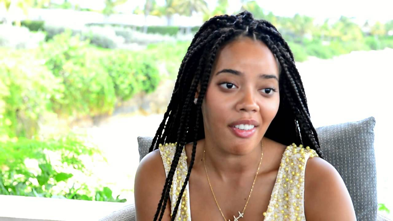 angela simmons in anguilla to launch new line at