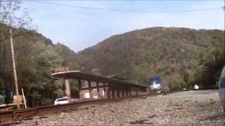 2014 New River Train At Prince, WV