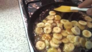 Как готовить жареные бананы