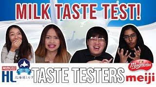 Milk Taste Test   Taste Testers   EP 30