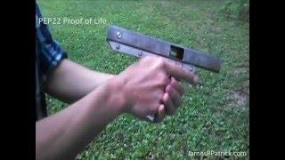 Как сделать  Самодельный пистолет под мелкашку