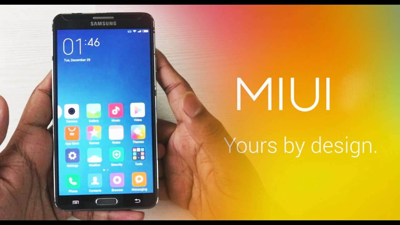 MIUI ROM for Galaxy Note 3 N900