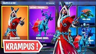 'NEW' Skin KRAMPUS (New Shop)! Fortnite Battle Royale