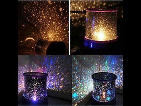 Tylko na zewnątrz Lampka nocna projektor gwiazd z aliexpress - YouTube PU22