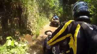 Trilha de Quadriciclos Can Am outlander e Polaris em Amparo - São Paulo - Brasil