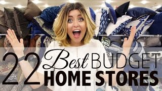 22 BEST Budget Home Stores