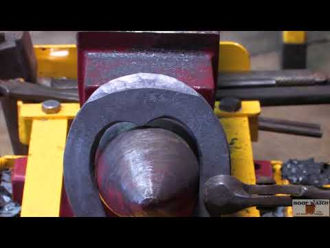 World Championship Blacksmiths Craig Trnka, CJF - French Toe Weight