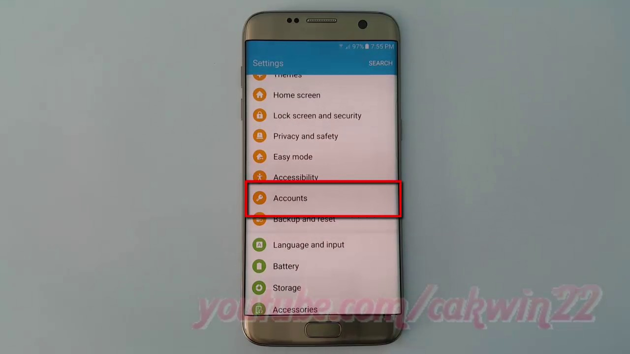 how to remove add from samsung s7