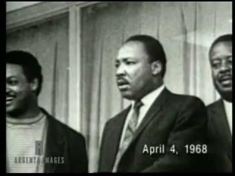 Martin Luther King Killed By Assassin Youtube