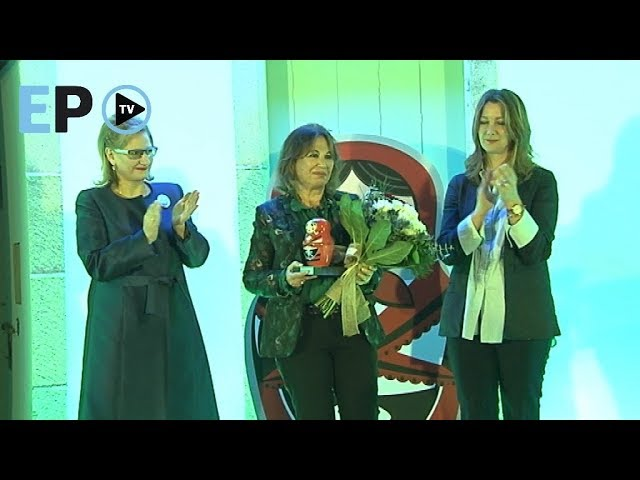 Blanca García Montenegro homenajeada en los premios Son Muller