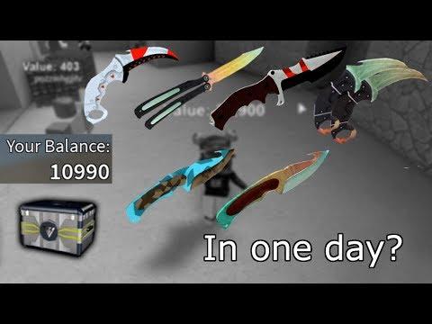 7 KNIVES IN 1 DAY? Counter Blox Open Case + Showcase [RU]