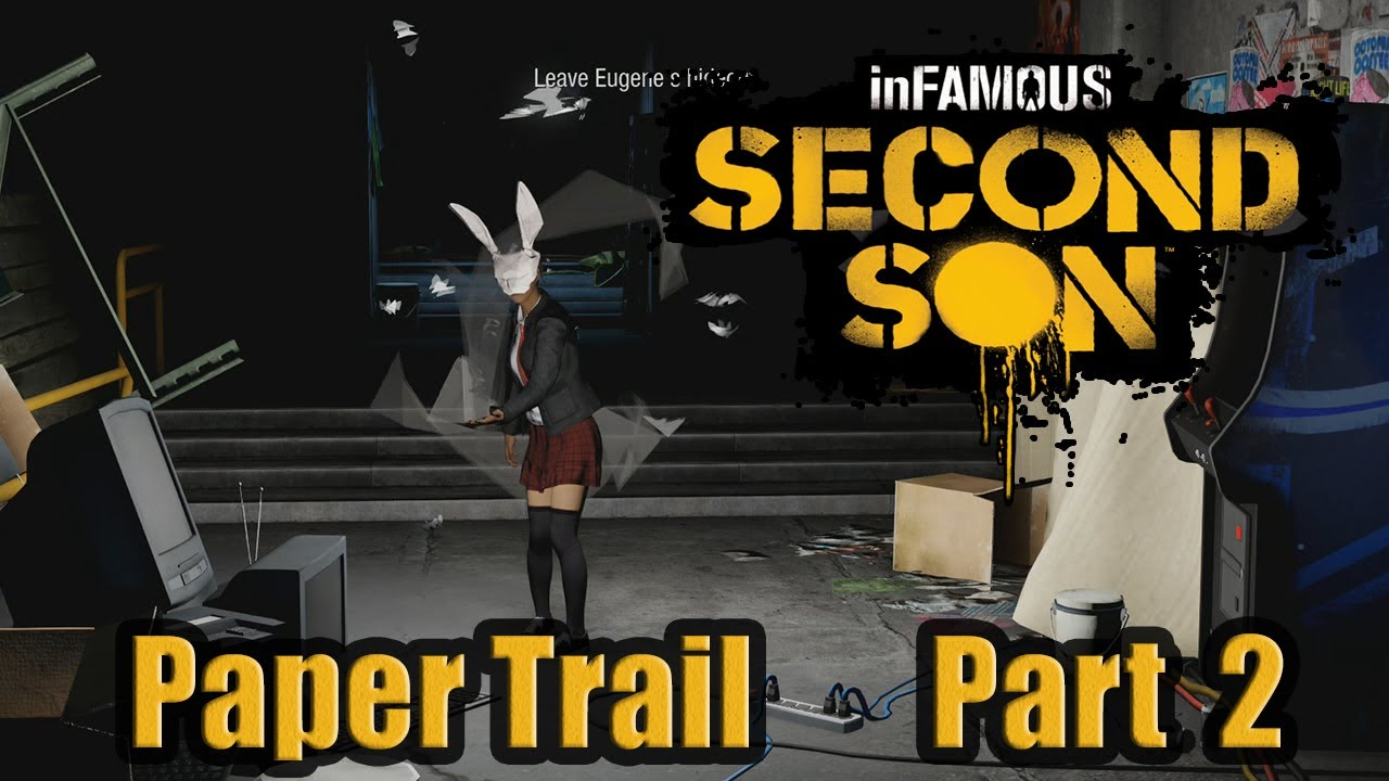 infamous second son :-: paper trail :-: part 2 :-: full tutorial