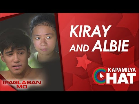 Kapamilya Chat with Kiray Celis and Albie Casino for Ipaglaban Mo