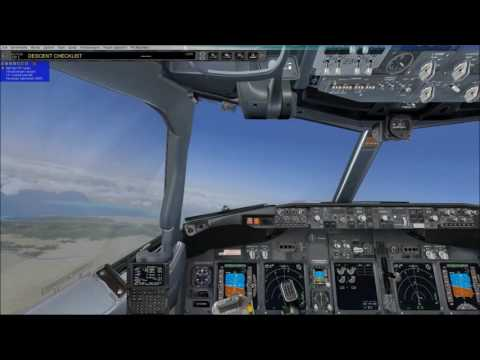 fsx world tour 18th step from  teheran to kuwait city  pmdg738