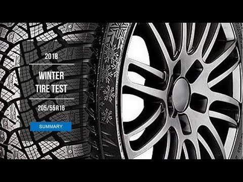 2018 Winter Tire Test - 205/55 R16 Studded