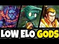 The 3 GODS For WINNING In Low Elo Jungle League Of Legends mp3