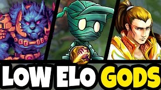 The 3 GODS for WINNING in Low Elo Jungle - League of Legends