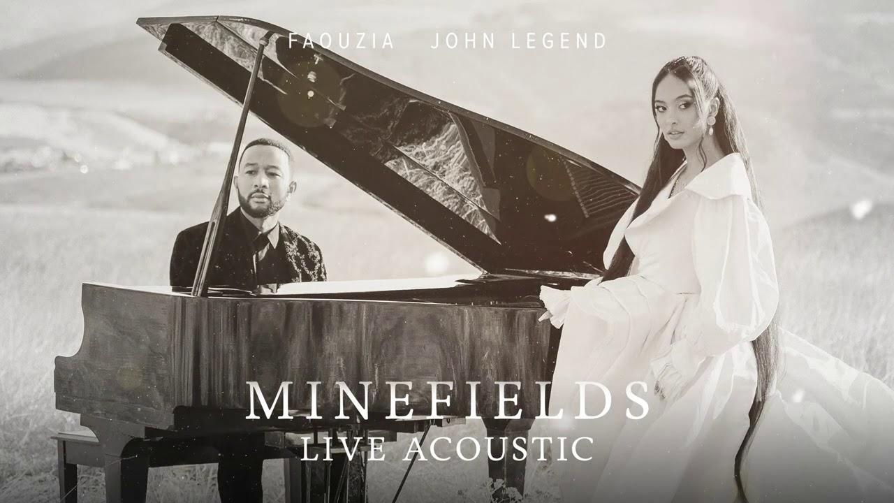 Download Faouzia & John Legend - Minefields (Live Acoustic) [Official Audio]