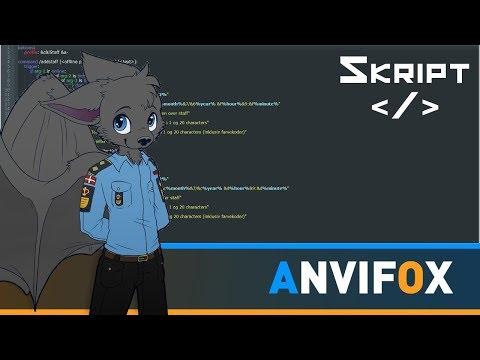 Dansk Minecraft Skript Tutorials: Personale Menu skript