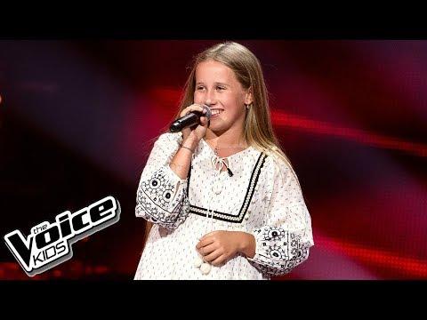 Gabrysia Grzyb - 'Nie wierz mi, nie ufaj mi' - Przesłuchania w ciemno - The Voice Kids Poland 2