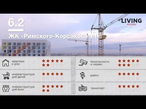 ЖК «Римского Корсакова 11» отзыв Тайного Покупателя. Новостройки Москвы