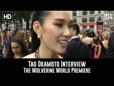 Tao Okamoto   The Wolverine World Premiere