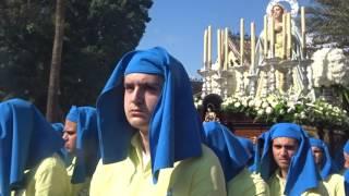 Procesión Gamarra 2017. Saeta a la Virgen.
