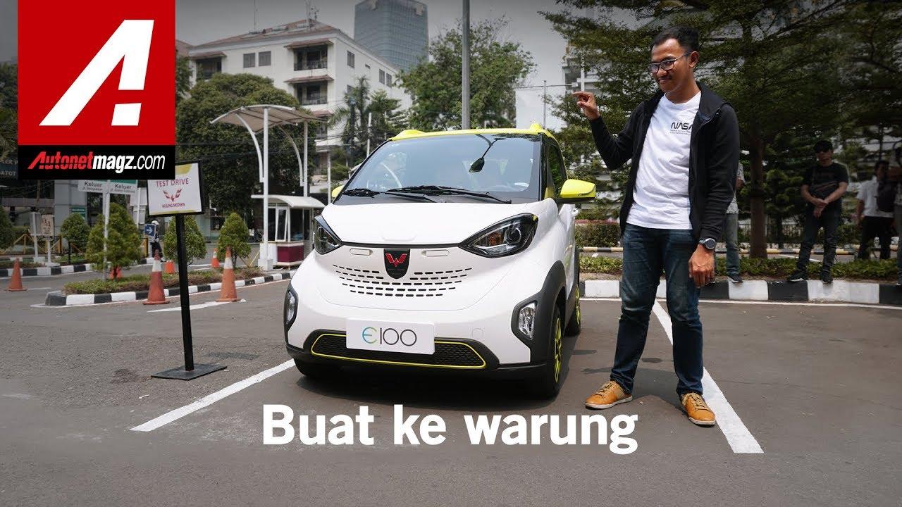 Wuling Bikin Mobil Listrik Wuling E100 Bisa Untuk Berdua Youtube