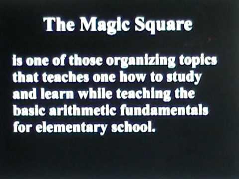 Solving the 3x3 Magic Square
