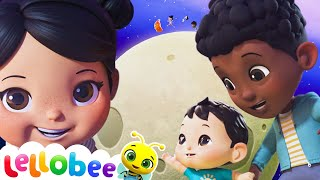 Planets and Moon Song | Brand New Nursery Rhymes & Kids Songs Learn ABC & 123 | Little Baby Bum
