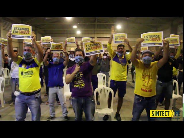 Trabalhadores dos Correios em PE decretam greve por tempo indeterminado