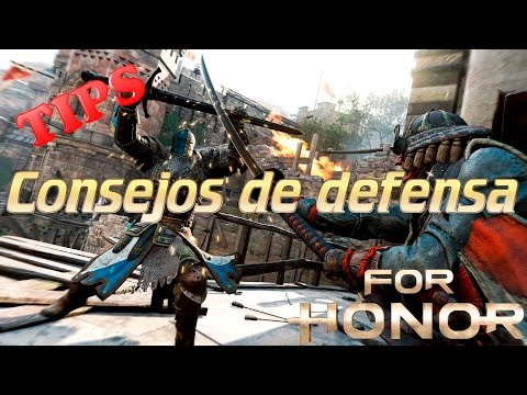 Guía para Dominar la defensa || Deflect - Parry - Block || For Honor || Guías y gameplays