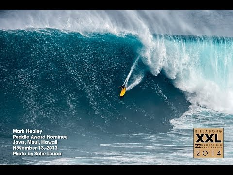Biggest Waves Paddle-In, Billabong XXL 2014 Nominees
