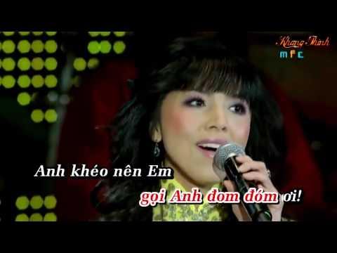 karaoke,,, ĐOM ĐÓM [song ca]