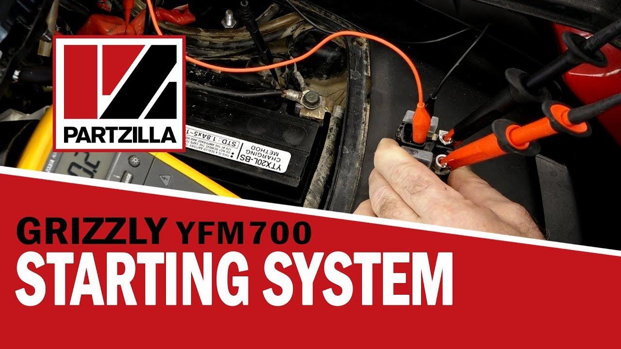 Yamaha YFM700 Grizzly Won't Start | Yamaha ATV Starting Problems on