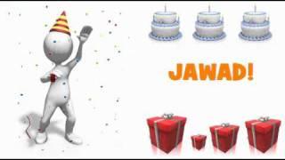 HAPPY BIRTHDAY JAWAD!