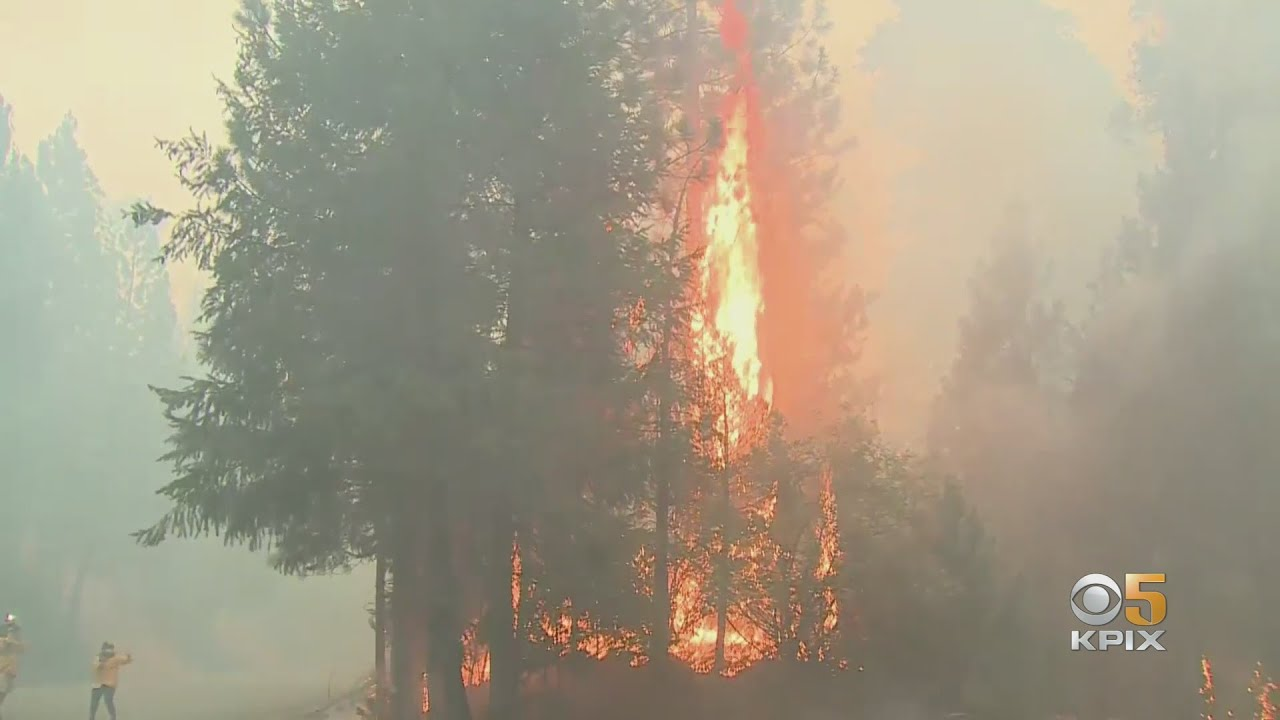 Two people injured in Caldor Fire in Northern California