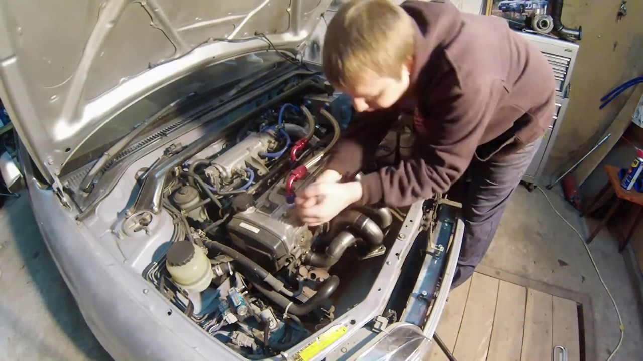 hight resolution of toyota starlet glanza v installation of a turbokit