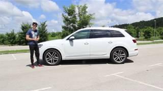 Audi Q7 2017 TEST | The Driver Videos