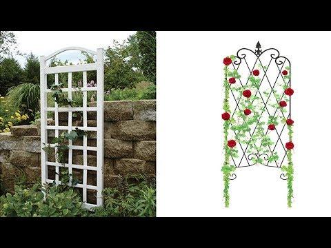 Top 5 Best Wooden and  Metal Garden Trellis With Gate 2019