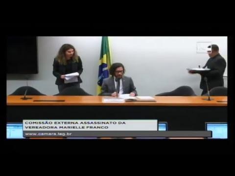 ASSASSINATO MARIELLE FRANCO E ANDERSON PEDRO GOMES - Reunião Deliberativa - 17/04/2018 - 16:21